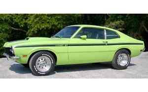 1971-1972 MERCURY COMET 'GT' STRIPE KIT - A700