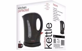 NEW- 1L Cordless Kettle - Kitchen Perfected