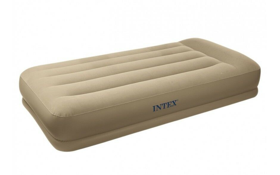 Intex luftbett. Elektropumpe Pillow RESTO mid-rise Bed Queen 67748