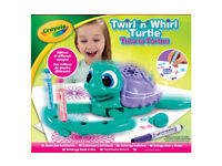 CRAYOULA TWIRL'N'WHIRL Twirl and Whirl TURTLE DRAWING DESIGN PATTERN BATTERY TOY