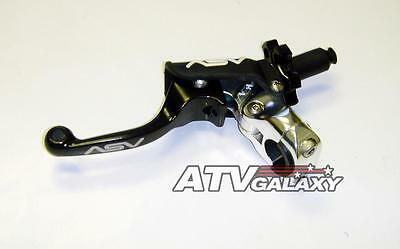 ASV F3 SHORTY Pro Clutch Lever BLACK Suzuki DRZ400 DRZ 400
