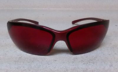 Stylish Red Laser Eye Protection Glasses Safety Goggles Laser Straight