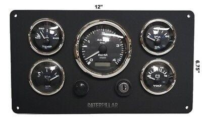 Caterpillar Marine engine instrument panel pre wired # USA Made