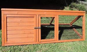 RABBIT GUINEA PIG WOODEN HUTCH -  EX. CONDITION $75ono Crafers West Adelaide Hills Preview