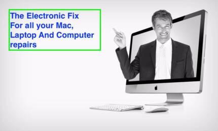 We repair Macs, Laptops, & Computers