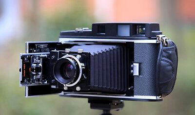 POLAROID 110B 110A converted to 4X5  Rangefinder Camera II