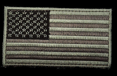 USA AMERICAN FLAG TACTICAL MORALE MILITARY ACU 3.0 inch HOOK PATCH (MF6)