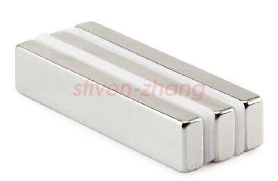Lot 20pcs Strong Block Cuboid Bar Magnets N50 Rare Earth Neodymium 30 X 5 X 3mm