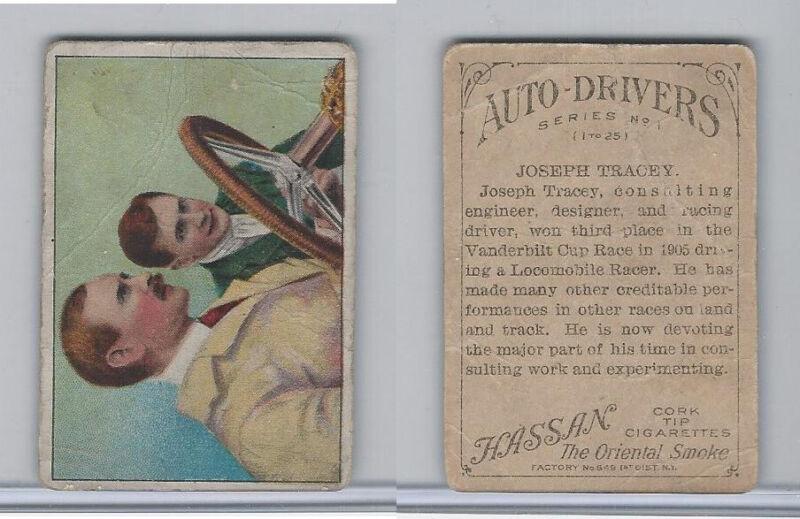 T36 Hassan, Auto-Drivers, 1911, Joseph Tracey
