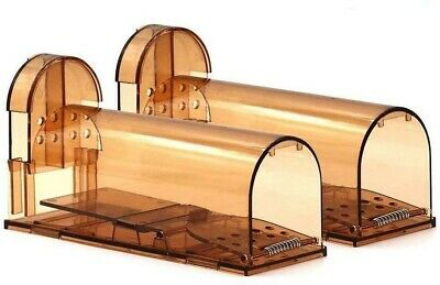Humane Mouse Trap No Kill Live Mice Catch Cage (2 Pack) NEW #GIK