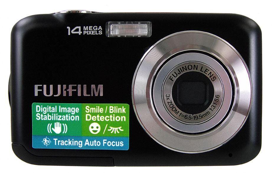 Fujifilm FinePix JV200 Digital Camera - Black (14MP,