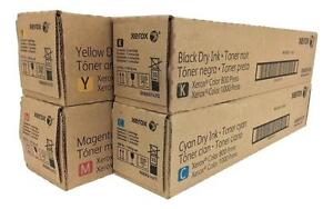 Xerox 800 / 1000 Digital Color Press Toner Cartridge Set