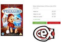 JOB LOT 25 x New Adventures of Pinocchio DVD BRAND NEW & SEALED