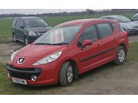 2010 DIESEL#PEUGEOT SW# 1.6cc#Road Tax For 12 Months Only £30!# DAMAGED REPAIRED DRIVES SUPERB