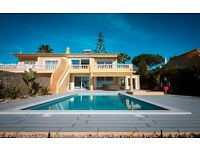 Luxury 1st line 3 bed beach villa + private pool to rent - Meia Praia, Lagos, The Algarve, Portugal