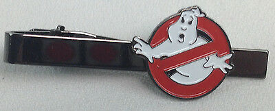 No Ghosts - GHOSTBUSTERS 1984 Movie Series Logo - UK Imported Tie Clip Clasp