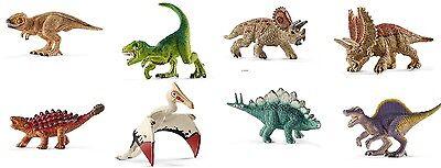 Schleich® Dinosaurs MINI - Dinosaurier - Auswahl, NEU mit Schleich®-Fähnchen