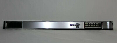 81-87 chevy silverado pickup truck dash AC vent plate cover brushed aluminum