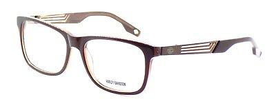 Harley Davidson HD0726 048 Men's Eyeglasses Frames 58-17-145 Brown + CASE