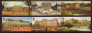 GREAT BRITAIN 2014 BUCKINGHAM PALACE SET OF 6 FINE USED