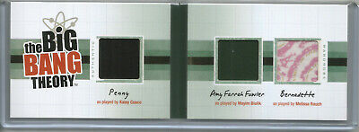 Big Bang Theory Seasons 3&4~Kostüm/Booklet OM10 Penny Bernadette Amy