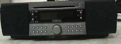 Cambridge Soundworks Radio/CD Player/Alarm Clock CD-740 Aux Port No Remote works