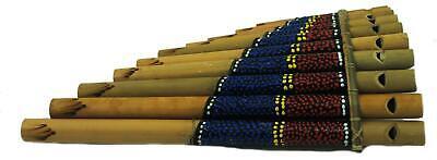 FAIR TRADE INDONESIAN BAMBOO PANPIPES HARMONICA pan pipes LUK15