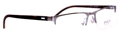 POLO Ralph Lauren Herren Brillenfassung PH1161 9050  55mm  silber 395 T40