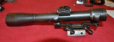 Antique RARE German C.P.Goerz/Berlin 4X sniper rifle scope Gewehr #2109 WWI