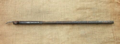 d Antique PERCUSSION RIFLE BARREL Silver Inlaid G. GREIS IN MÜNCHEN