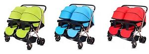 Double twin stroller / pram brand new - 3 COLOURS Reservoir Darebin Area Preview