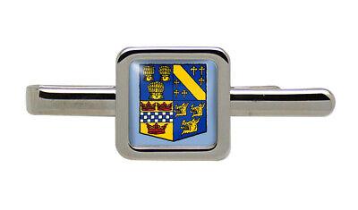 Aberdeenshire (Escocia) Cuadrado Corbata Clip