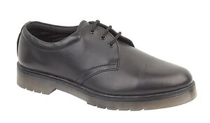 New-Black-Leather-Shoes-With-Air-Soles-Sizes-6-12