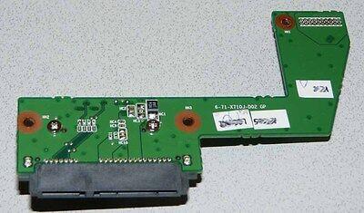 SATA HDD und CD-Rom Adapter Model: 6-71-X710J-D02 GP für Clevo P170HM, P170EM gebraucht kaufen  Osterburken