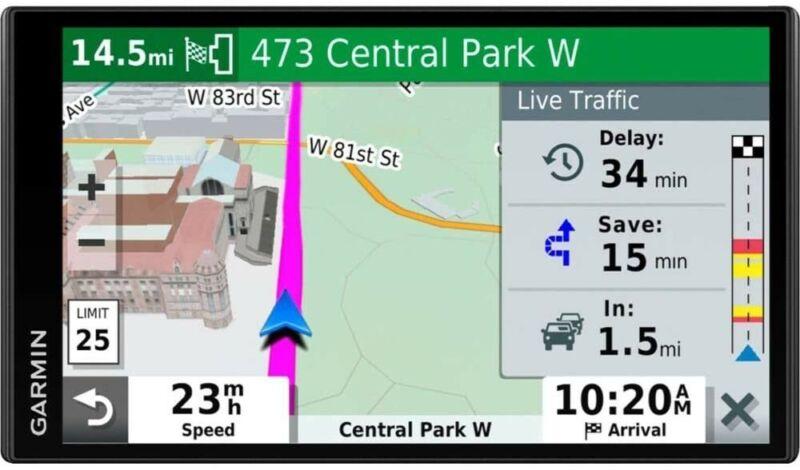 Garmin 010-N2038-02 DriveSmart 65 GPS NavigatorBluetooth, Wi-Fi &Traffic Alerts