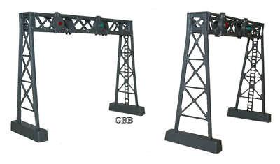N Scale 2 Two Track Signal Bridge Kits  Bulk Purchase Model Power New 1311