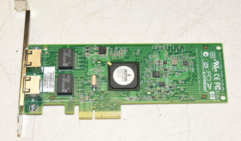 Hp 458491-001 Pci-e Dual Port Gigabit