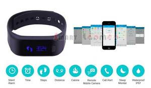 Smart Fitness Band Bluetooth Wrist Watch Bracelet Android IOS App Miranda Sutherland Area Preview