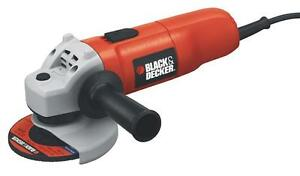 BLACK and DECKER QUALITY 6 AMP ANGLE GRINDER - COMPARE USA BIG BOX SURPLUS PRICES!