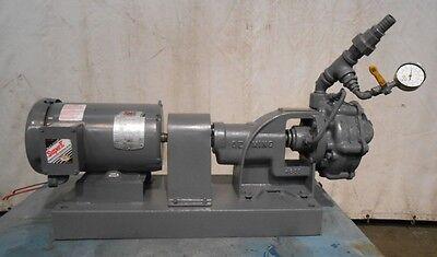 Crane Deming Pump 4001 10010032 Baldor 2hp Motor Em3555t