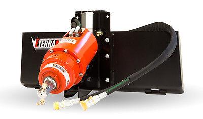 Auger Attachment For Terex Pt-30 And Asv Rc-30 - Premium Eterra Auger Drive