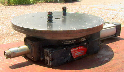 16 To 300 Mm Schrader Bellows Rotary Index Table Mn B31181442 With Solenoid Va