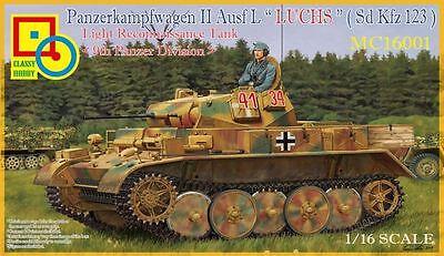 Panzerkampfwagen II Ausf. L Luchs Sd. Kfz 123 Classy Hobby Panzer MC16001 1:16