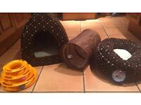 Cat beds and toys for sale