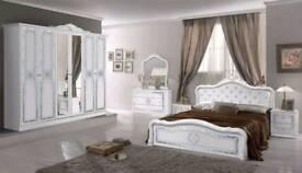 Beautiful Italian furniture bedroom 6 picee set