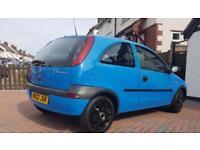 Vauxhall Corsa 1.2 16v 3Dr A/C *Long Mot* + *Genuine 64K*