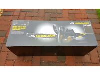 BRAND NEW SEALED IN BOX Mcculloch petrol chain saw CS400T 40cc