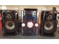 Superb condition Panasonic CD/Radio System