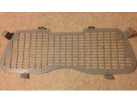 SECURITY METAL REAR WINDOW GRILL FOR 2 DOOR VAUXHALL ASTRA VAN