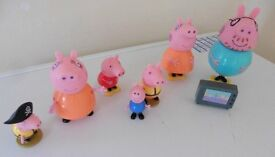 Bundle of Peppa Pig Figures £5 for all collection from Shepshed (or can post).
